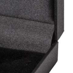 Pudełko IDA pierścionek czarne