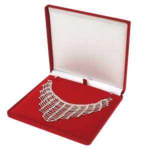 ANA Necklace Jewellery box - Red