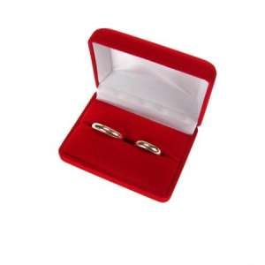 ANA Wedding Rings Jewellery box - Red