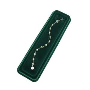 OLA Plastic box for jewellery - Green