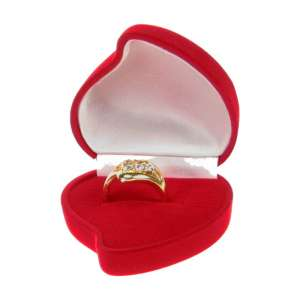 ANA Ring Jewellery box - Red