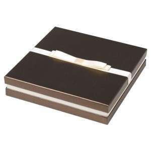 Pudełko DIANA kolia, zestaw brązowe