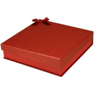 STELLA Necklace Jewellery Box - Red