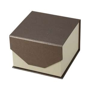 VIOLA Watch Jewellery Box - brown
