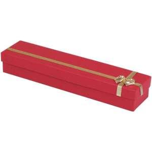Pudełko RITA bransoletka czerwone