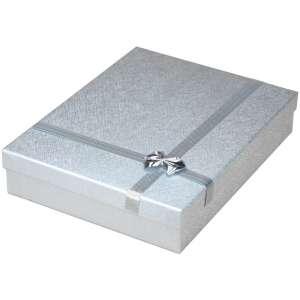 Pudełko RITA kolia srebrne