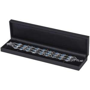 OLIVIA  Bracelet Jewellery Box - Black
