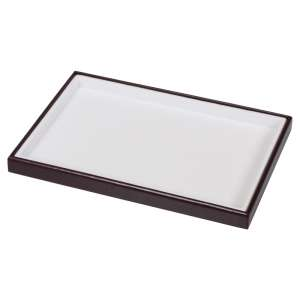 Kaseta flokowana - pusta - biała