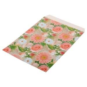 """Paper bag 150 x 200 mm. """"Flowers""""- 50 pcs"""