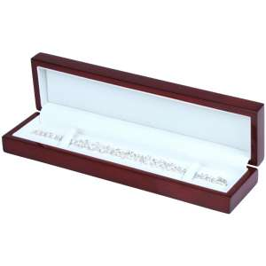PRIMO Bracelet Jewellery Box - Burgundy