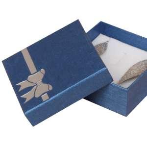 Pudełko TINA kokardka uniw.duże Niebieskie