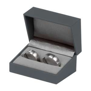 IDA  Wedding Rings Jewellery Box - grey