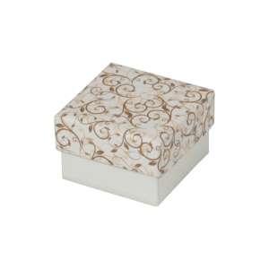 Pudełko SYLVIA pierścionek ecru