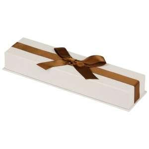 Pudełko AMANDA bransoletka Ecru