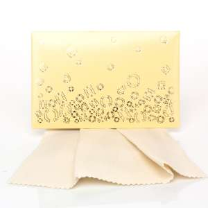 Gift Cleaning Cloths 20 x 12 cm. - Ecru box