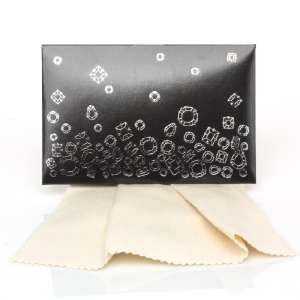 Gift Cleaning Cloths 20 x 12 cm. - Black box