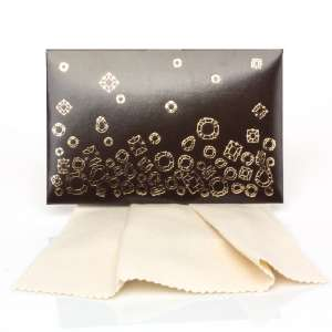 Gift Cleaning Cloths 20 x 12 cm. - brown box