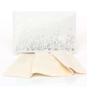 Gift Cleaning Cloths 20 x 12 cm. - White box