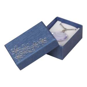 TINA FLOWERS Small Set Jewellery Box - Blue