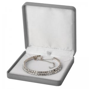 EMMA Neckalce Jewellery Box - grey