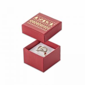 Pudełko LENA pierścionek Renifery