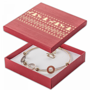 LENA Necklace Jewellery Box - Reindeers