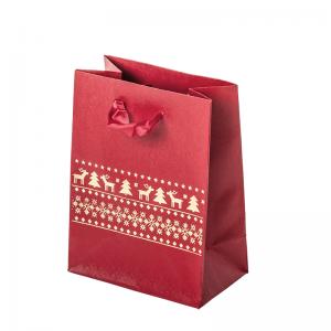 EMI Paper Bag 12x16x7 cm. Reindeers