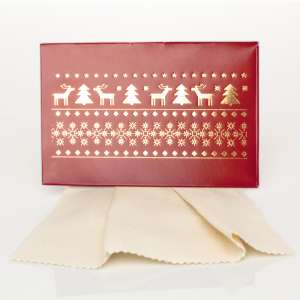 Gift Cleaning Cloths 20 x 12 cm. - Reindeers