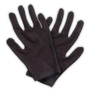 Rękawiczki ekspozycyjne bawełniane czarne rozm. 7
