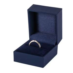 IDA Ring Jewellery Box - blue