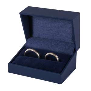 IDA  Wedding Rings Jewellery Box - blue