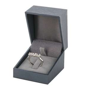 DARIA Ring Jewellery Box - graphite
