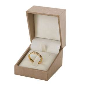 DARIA Ring Jewellery Box - gold
