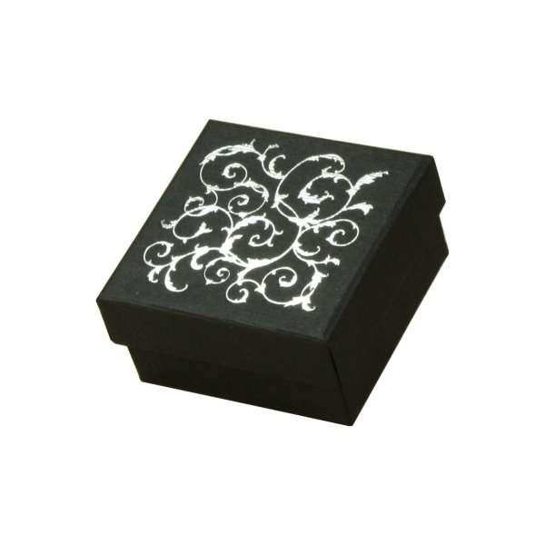 LENA Small set Jewellery Box - Black + silver print
