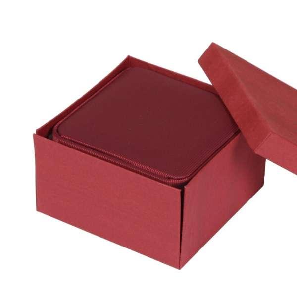 Pudełko SATIN zegarek bordo