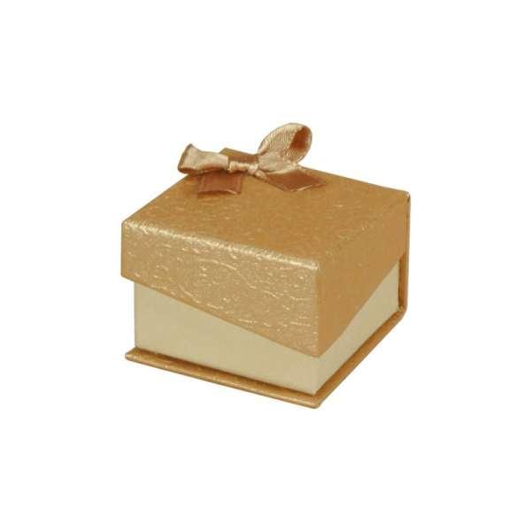 Pudełko STELLA pierścionek złote