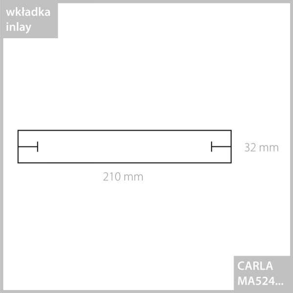 CARLA Bracelet Jewellery Box - black
