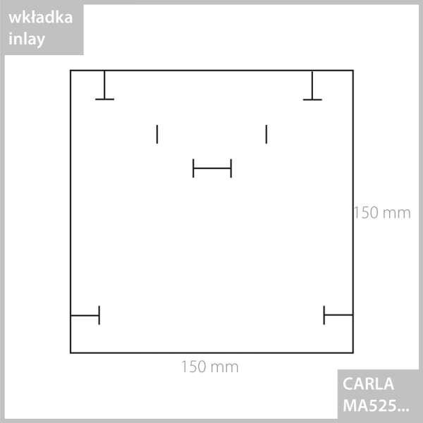 CARLA Necklace Jewellery Box - black