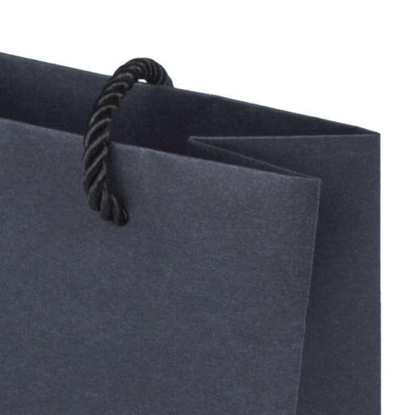 CARLA Paper Bag 150x150x80mm. - black
