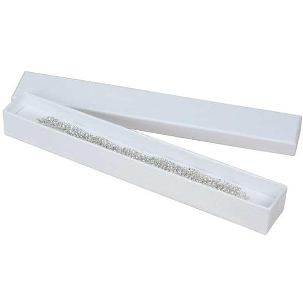 Pudełko TINA bransoletka białe