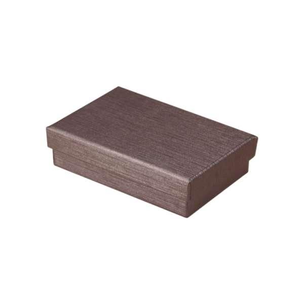 Pudełko TINA uniw.płaskie brązowe