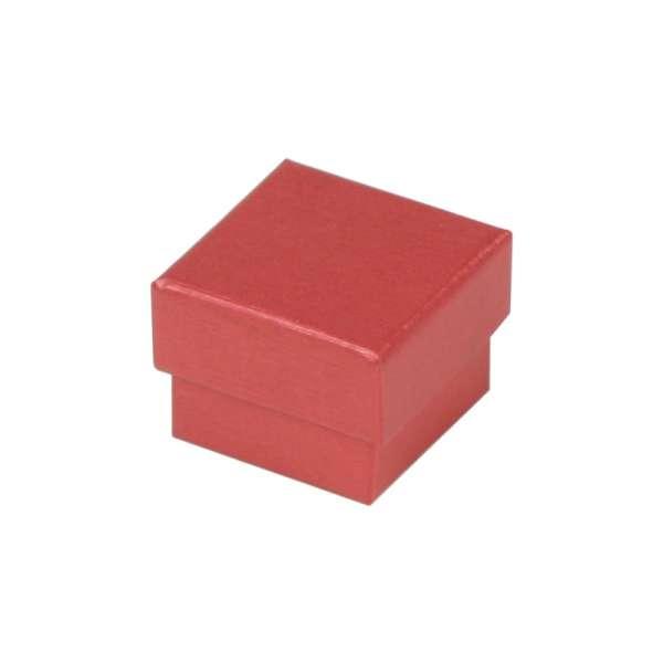 Pudełko TINA pierścionek bordo