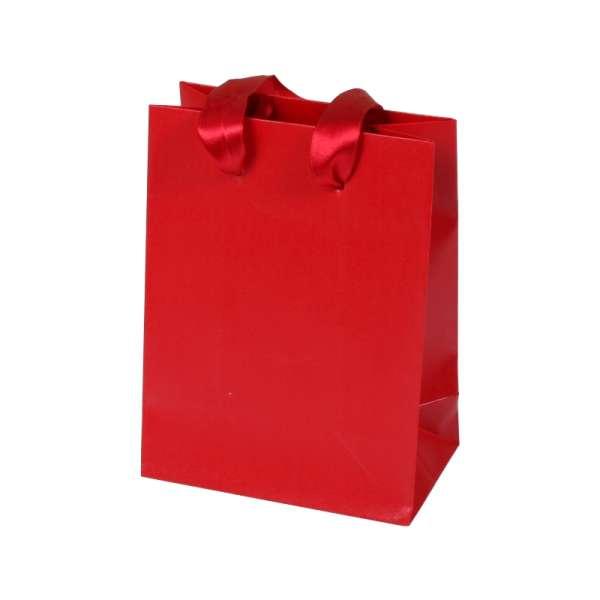 EMI Paper Bag 12x16x7 cm. Red