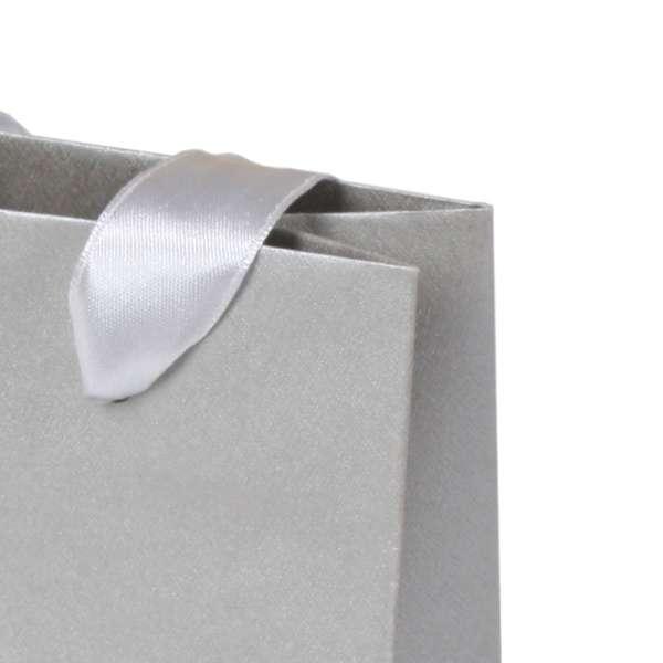 EMI Paper Bag 12x16x7 cm. Silver