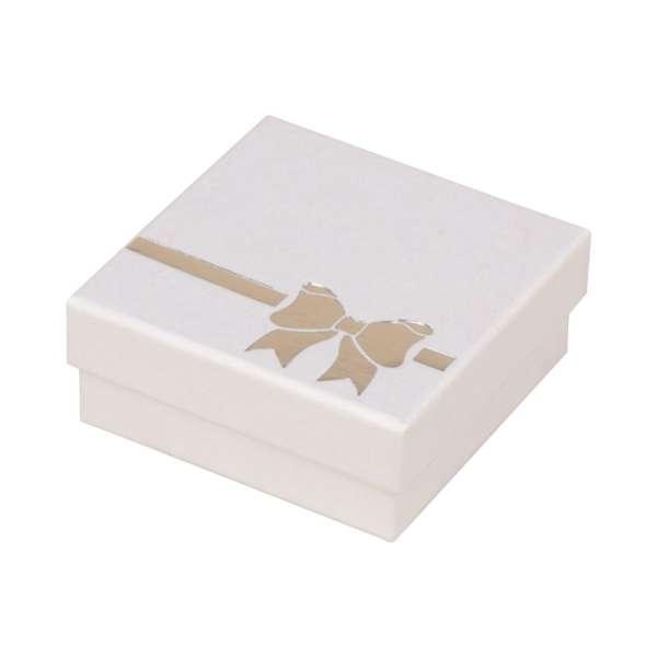 Pudełko TINA kokardka uniw.duże białe