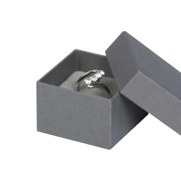 CARLA Ring Jewellery Box - grey
