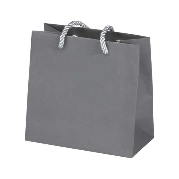 CARLA Paper Bag 150x150x80mm. - grey