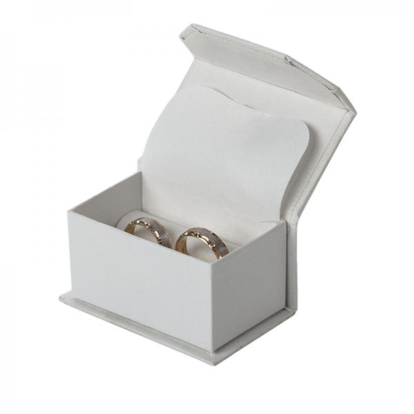 Pudełko JULIA obrączki  ecru