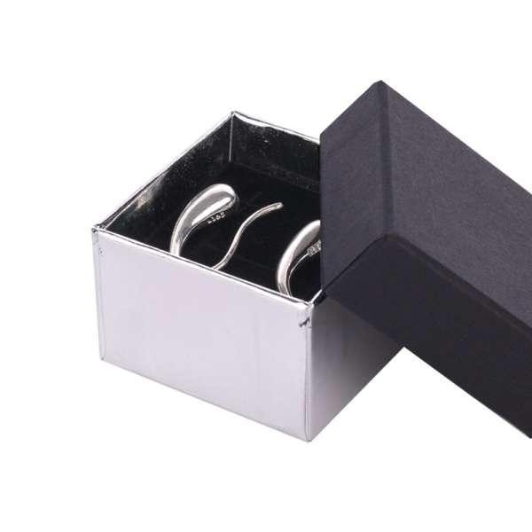 CARLA Ring Jewellery Box - black/silver