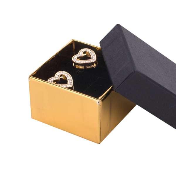 CARLA Ring Jewellery Box - black/gold